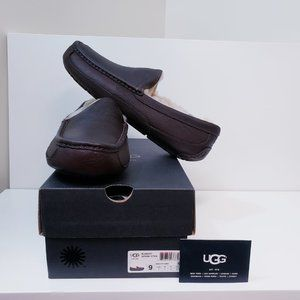 UGG MEN Ascot Leather China Tea(CTEA)